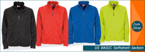 Softshell Jacken US Basic