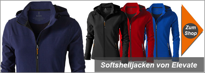 Elevate Softshell Jacken